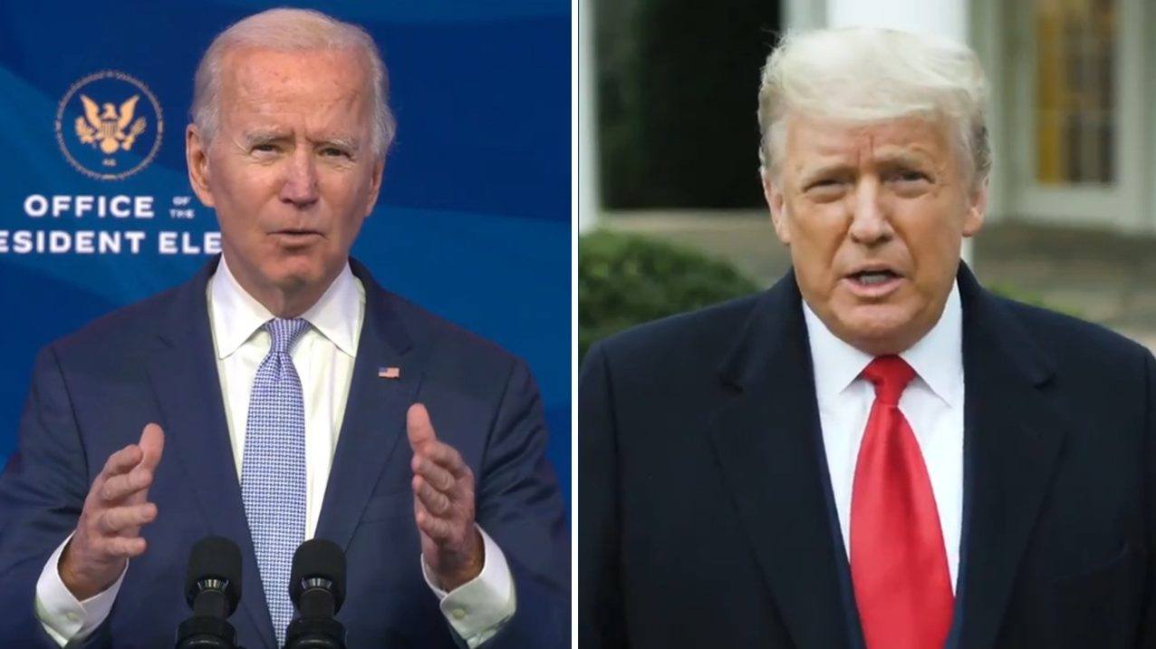 Democracia está bajo ataque, acusa Biden; Trump pide a seguidores irse a casa