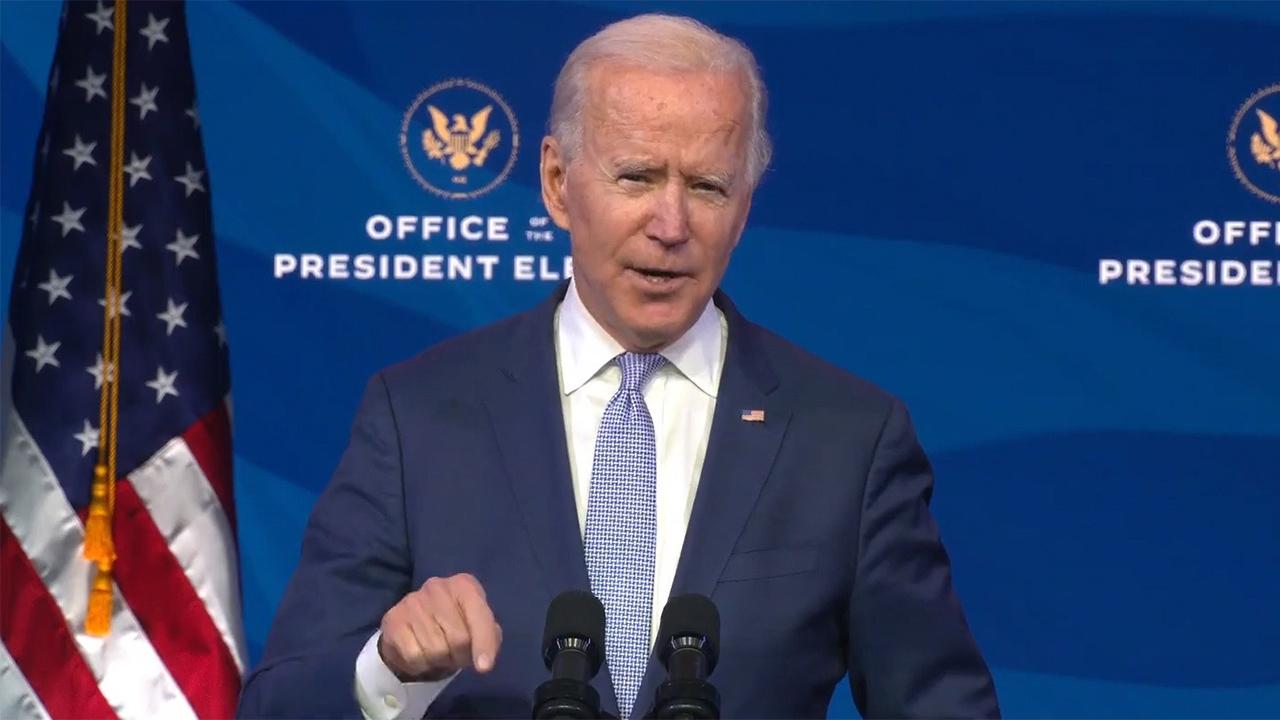 Biden propondrá inyectar 1.9 billones de dólares a economía por pandemia