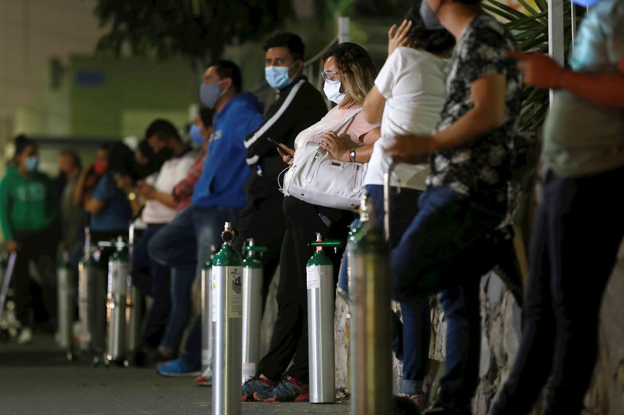 México rebasa los 169 mil fallecimientos por Covid-19
