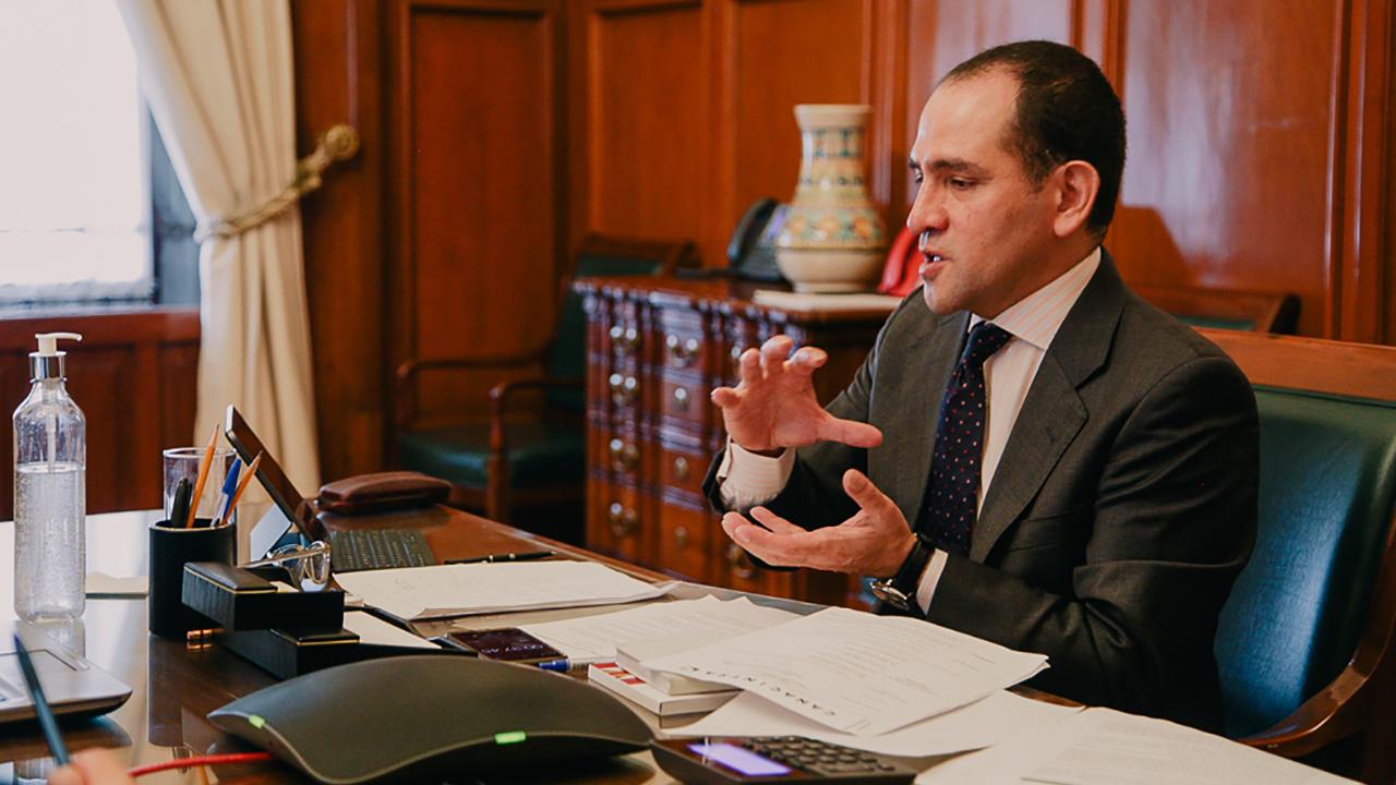 Vacunas, impuestos digitales y cambio climático, los ejes de la conversación entre Herrera y Yellen