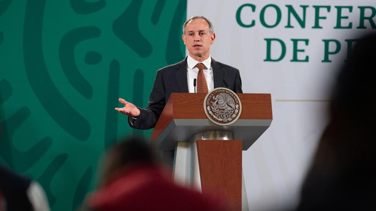 Hugo López-Gatell dio positivo a Covid-19