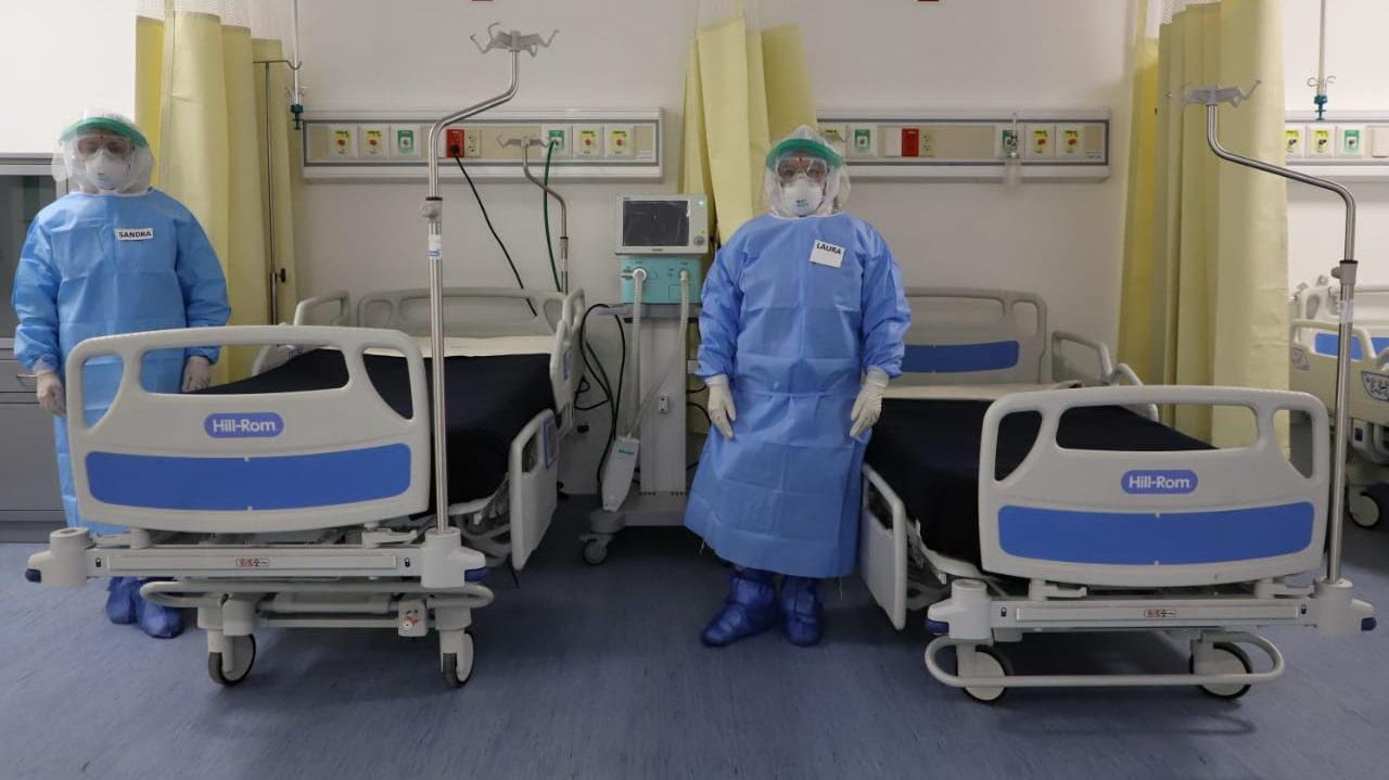 Ocupación hospitalaria en CDMX baja de 50% por primera vez desde noviembre