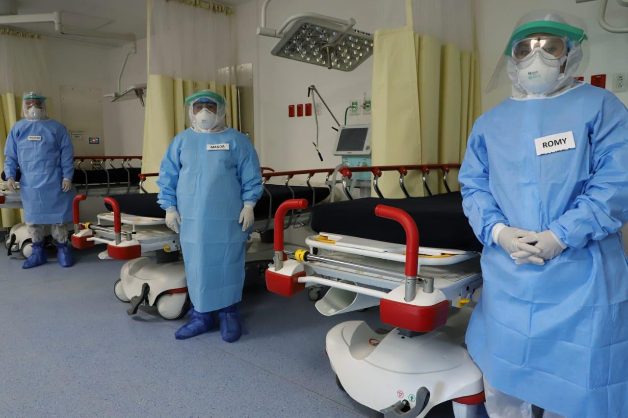Paciente que dio positivo a cepa británica de Covid-19 recibe alta médica en Tamaulipas