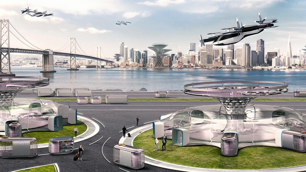 Inglaterra tendrá un aeropuerto para autos voladores