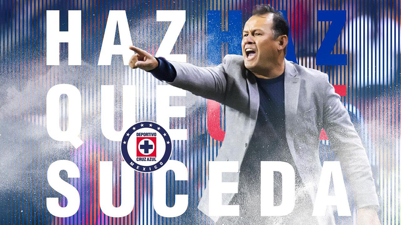 Juan Reynoso es el nuevo entrenador de Cruz Azul