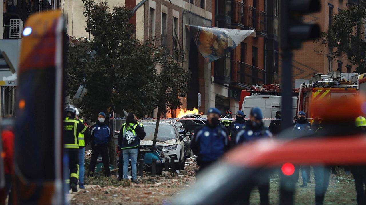 Explosión en un edificio de Madrid deja al menos tres muertos