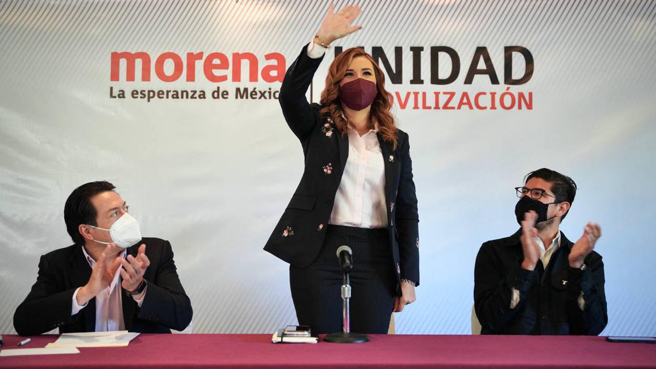 Morena registra a Marina del Pilar Ávila como candidata a la gubernatura de BC