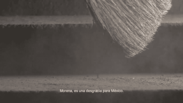 Morena spot PRI desgracia