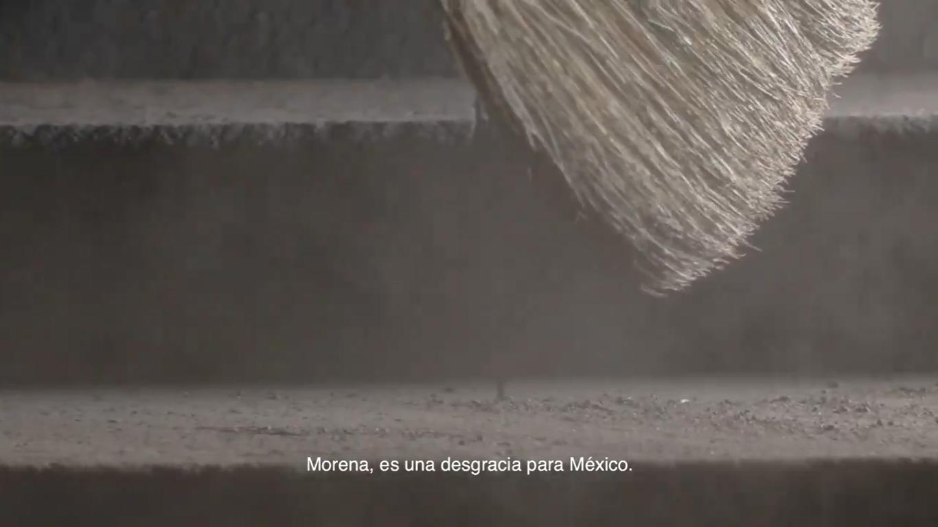 PRI lanza spot contra Morena similar al que le bajaron a Mario Delgado