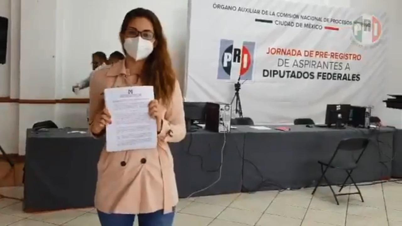 Supuesta reclutadora del expriista Cuauhtémoc Gutiérrez quiere ser diputada
