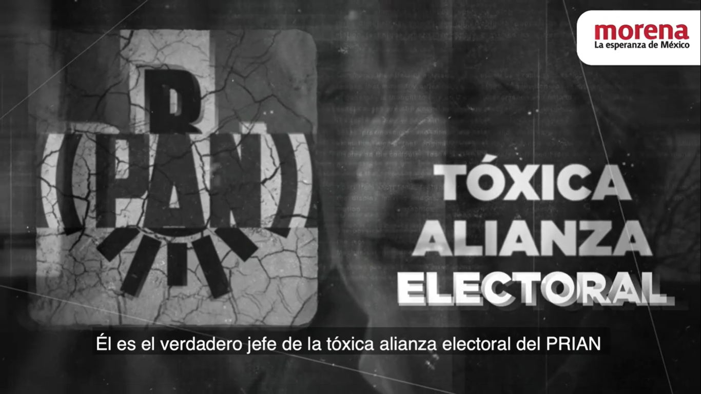 Morena lanza nuevo spot contra alianza PRI-PAN-PRD como el rechazado por el INE