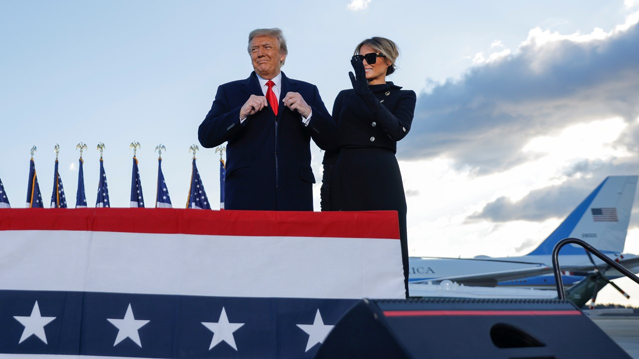 Trump deja Washington DC: 'fueron 4 años increíbles, regresaremos'
