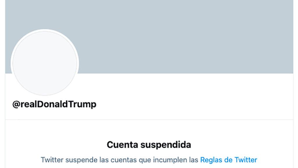Facebook e Instagram reactivan cuentas de Trump