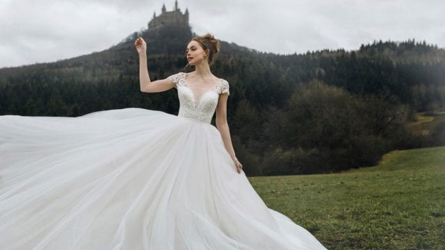 vestidos de novia princesas Disney