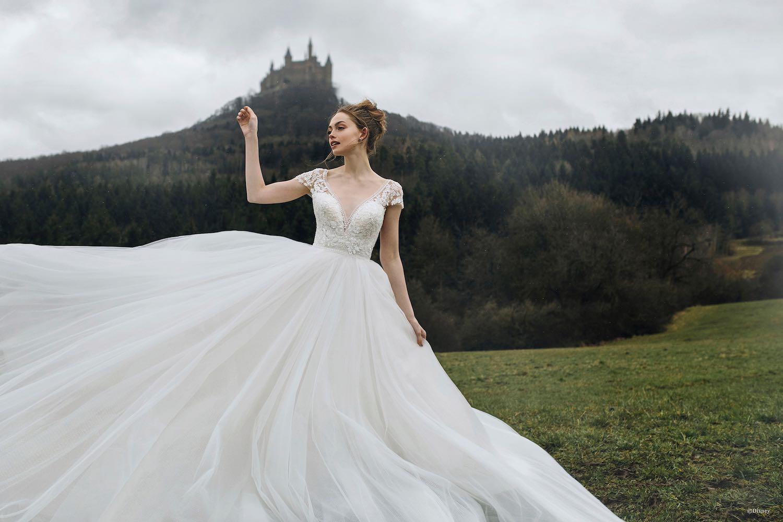 Vestidos de novia inspirados en princesas de Disney llegan a México