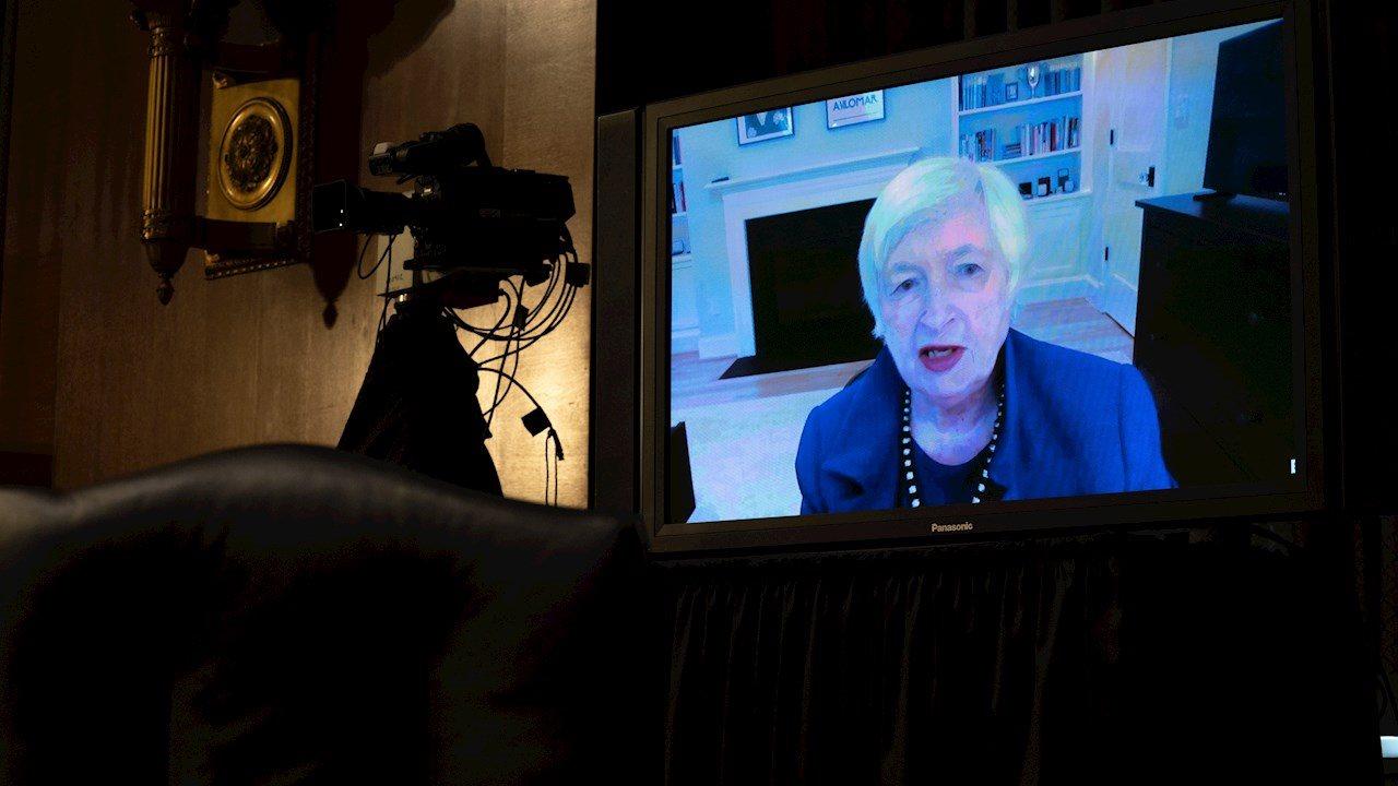Yellen pide más apoyo fiscal en EU para evitar una recesión 'más dolorosa'