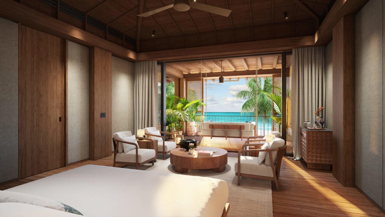 La Villa Magna, un hogar frente al Caribe mexicano con sello Rosewood