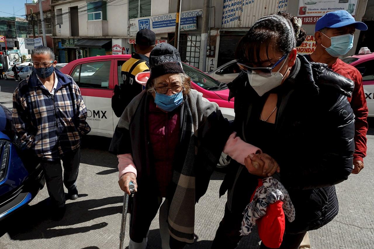México acumula 7,829 nuevos contagios de Covid-19