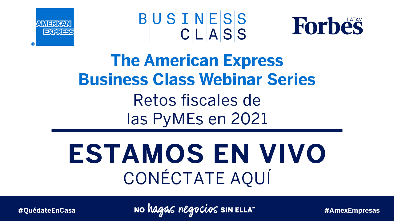 AMEX Business Class |Retos fiscales de PyMEs en 2021