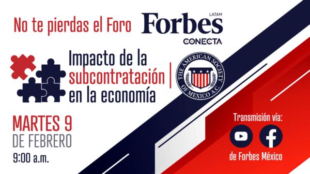 Foro Forbes Conecta Subcontratación
