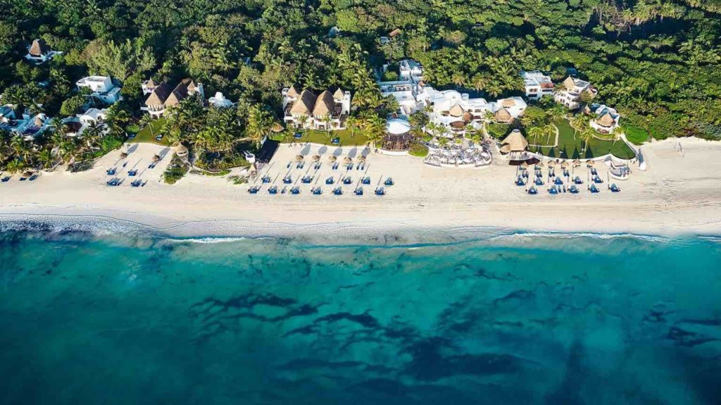 Forbes travel guide hoteles lujo México