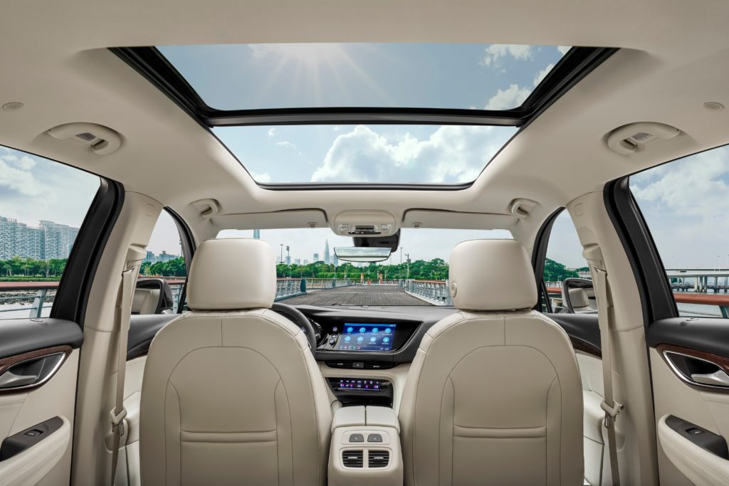 Buick Envision SUV Alexa