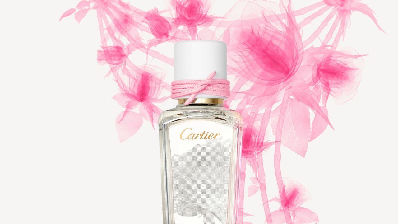 Cartier: La alta perfumería se impregna de un salvaje aroma a rosas
