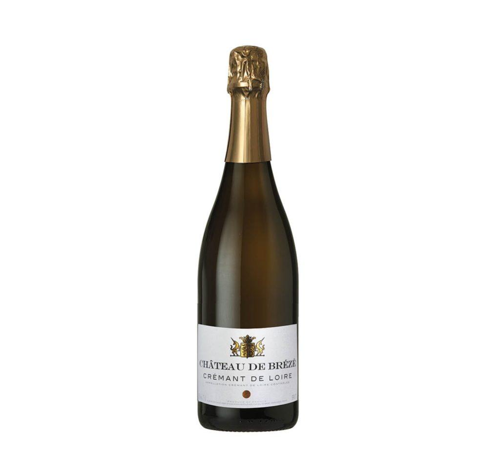 Vino Espumoso Château de Breze Crémant de Loire Blanc