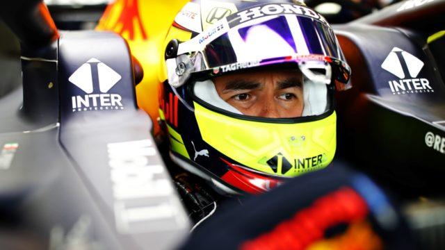 Checo Pérez Red Bull RB16B