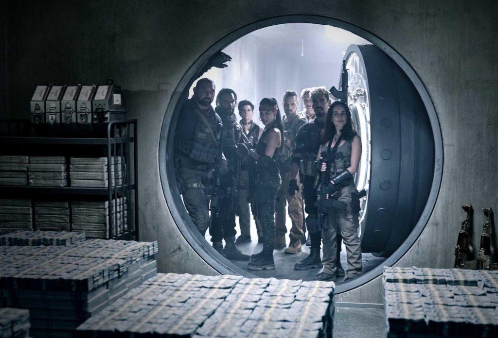 El ejército de los muertos Zack Snyder Netflix