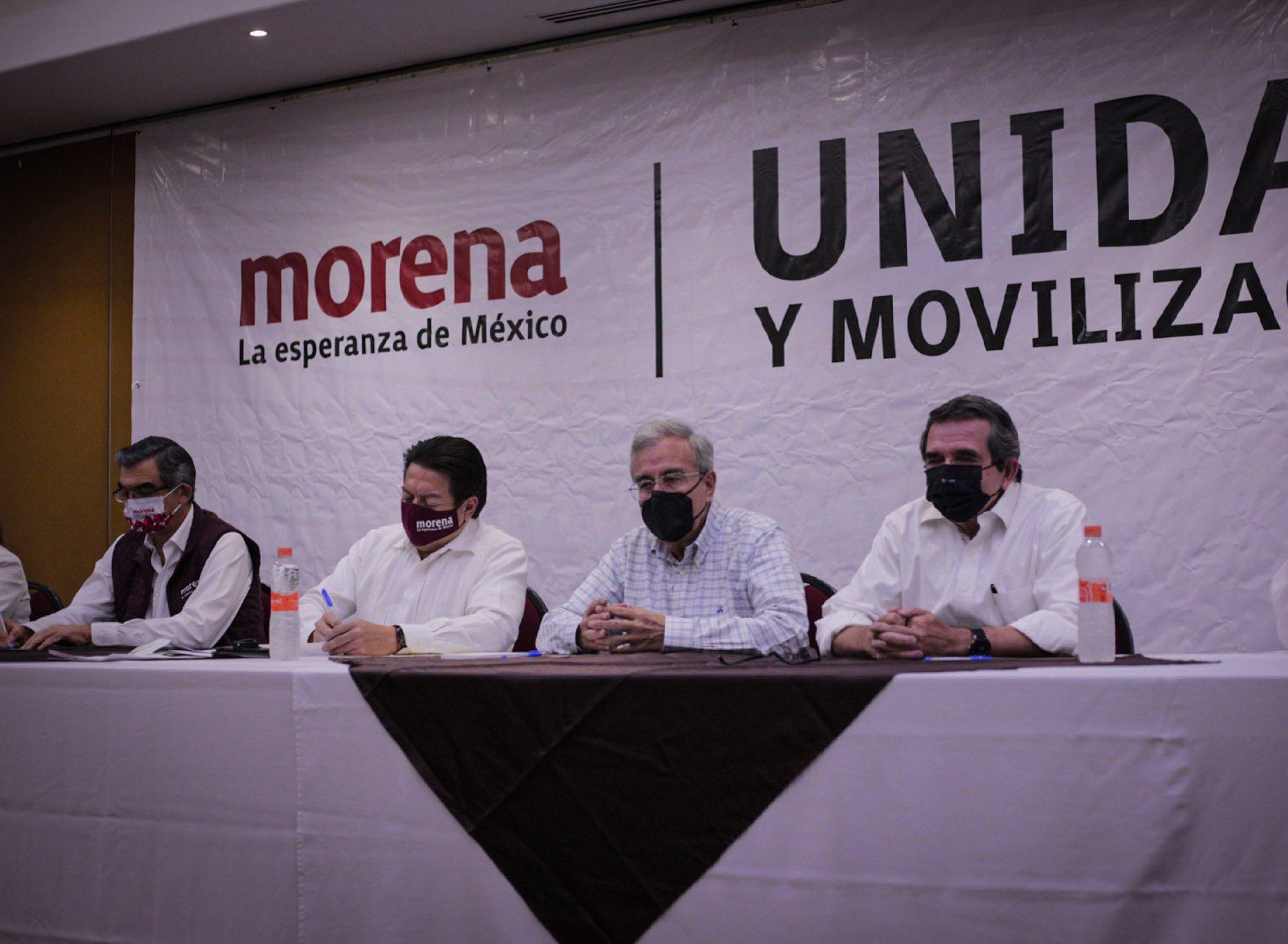 Delgado asegura que Salgado conserva sus derechos políticos en Morena