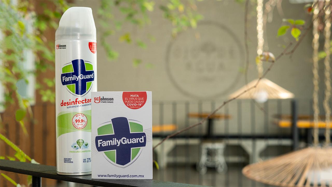 FamilyGuard®: la desinfección de ambientes nunca fue tan sencilla
