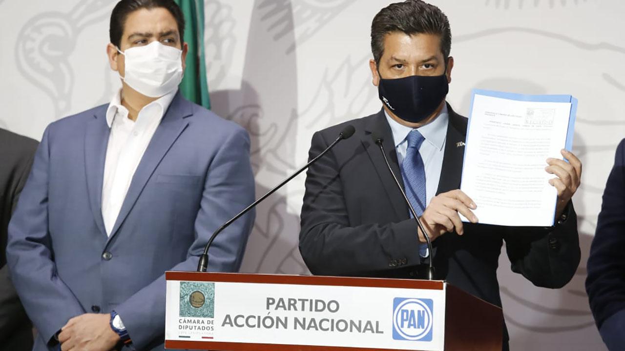 FGR ratifica solicitud para desaforar a gobernador de Tamaulipas