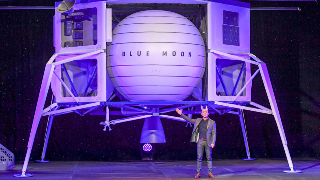 Blue Origin founder Jeff Bezos