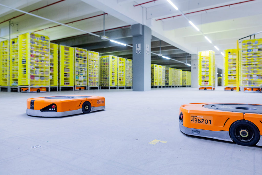 Amazon Logistics Center Mönchengladbach