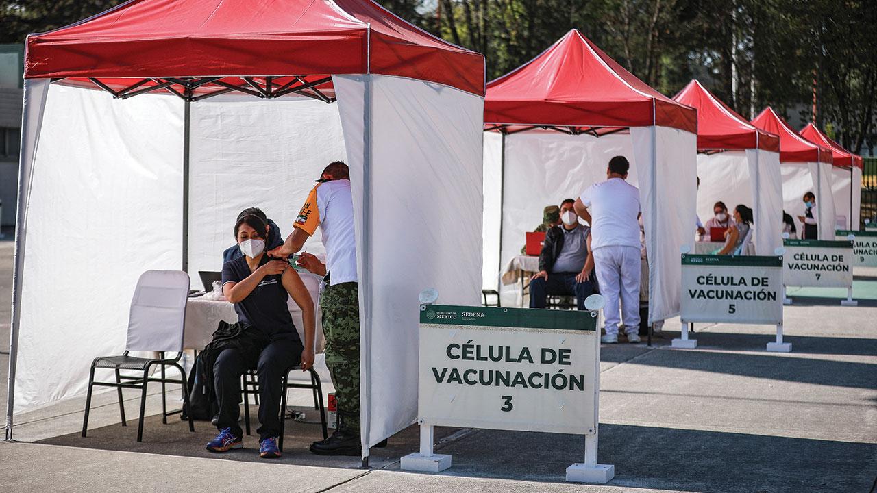 ¿Cómo se han distribuido las vacunas por entidad?