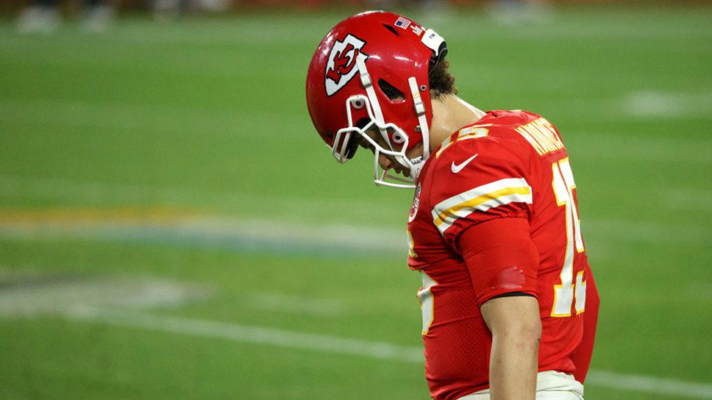 Super Bowl LV Patrick Mahones