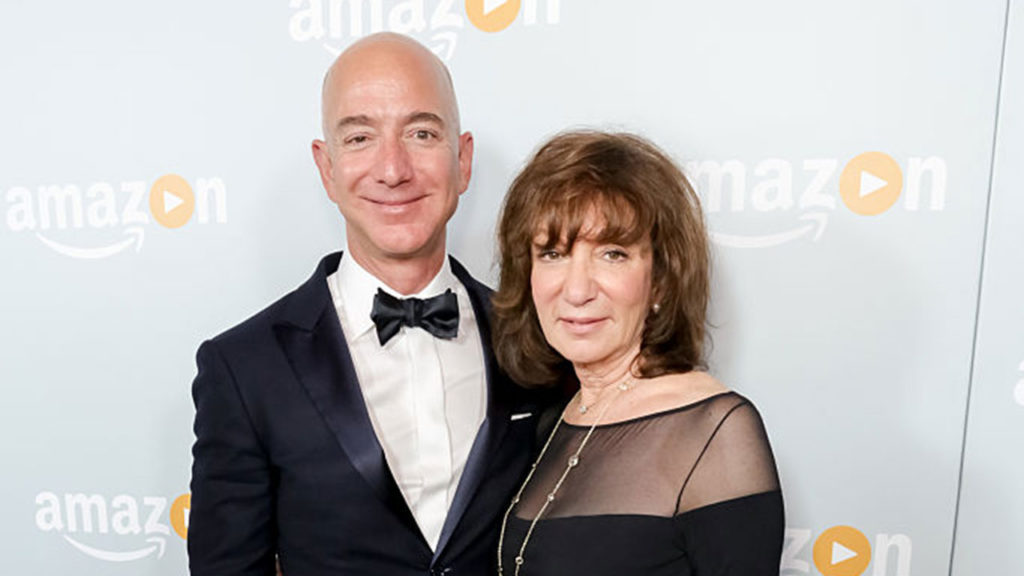 Jeff Bezos Jacklyn Amazon's Emmy Celebration