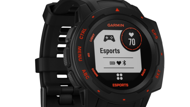 Garmin smartwatch esports