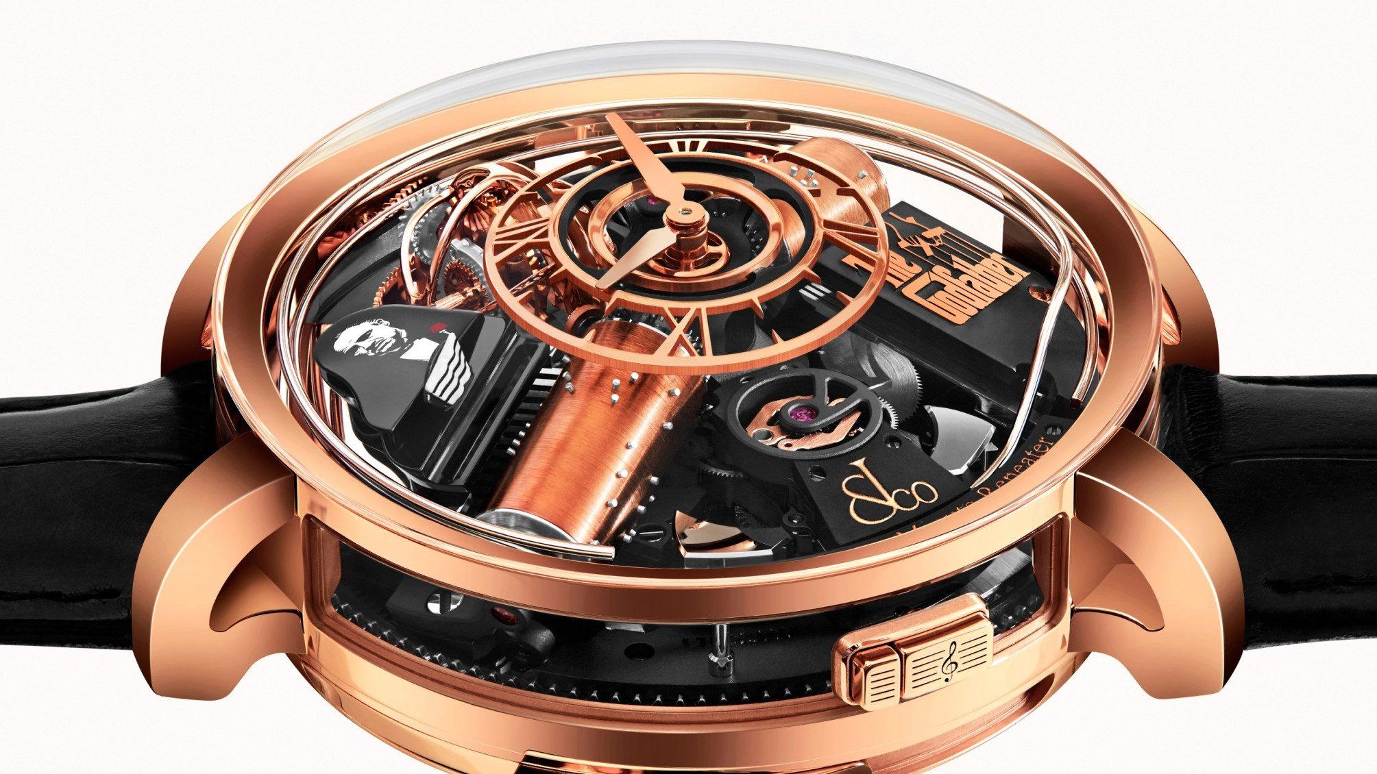 La música de 'El Padrino' resuena en este reloj de Jacob & Co