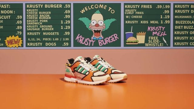 Adidas Los Simpson Krusty