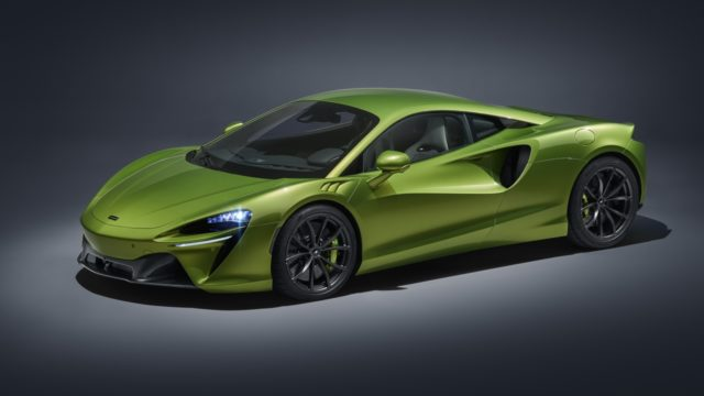 McLaren superdeportivos híbridos