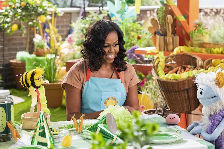 Michelle Obama reaparece en 'Waffles y Mochi', su nuevo proyecto para Netflix