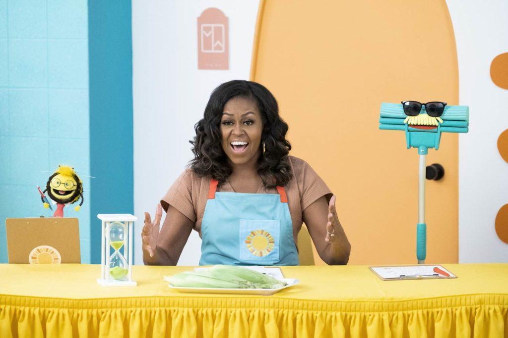 Michelle Obama Netflix Waffles y Mochi