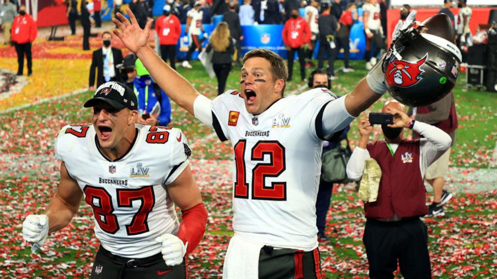 Super Bowl LV Rob-Gronkowski-Tom-Brady