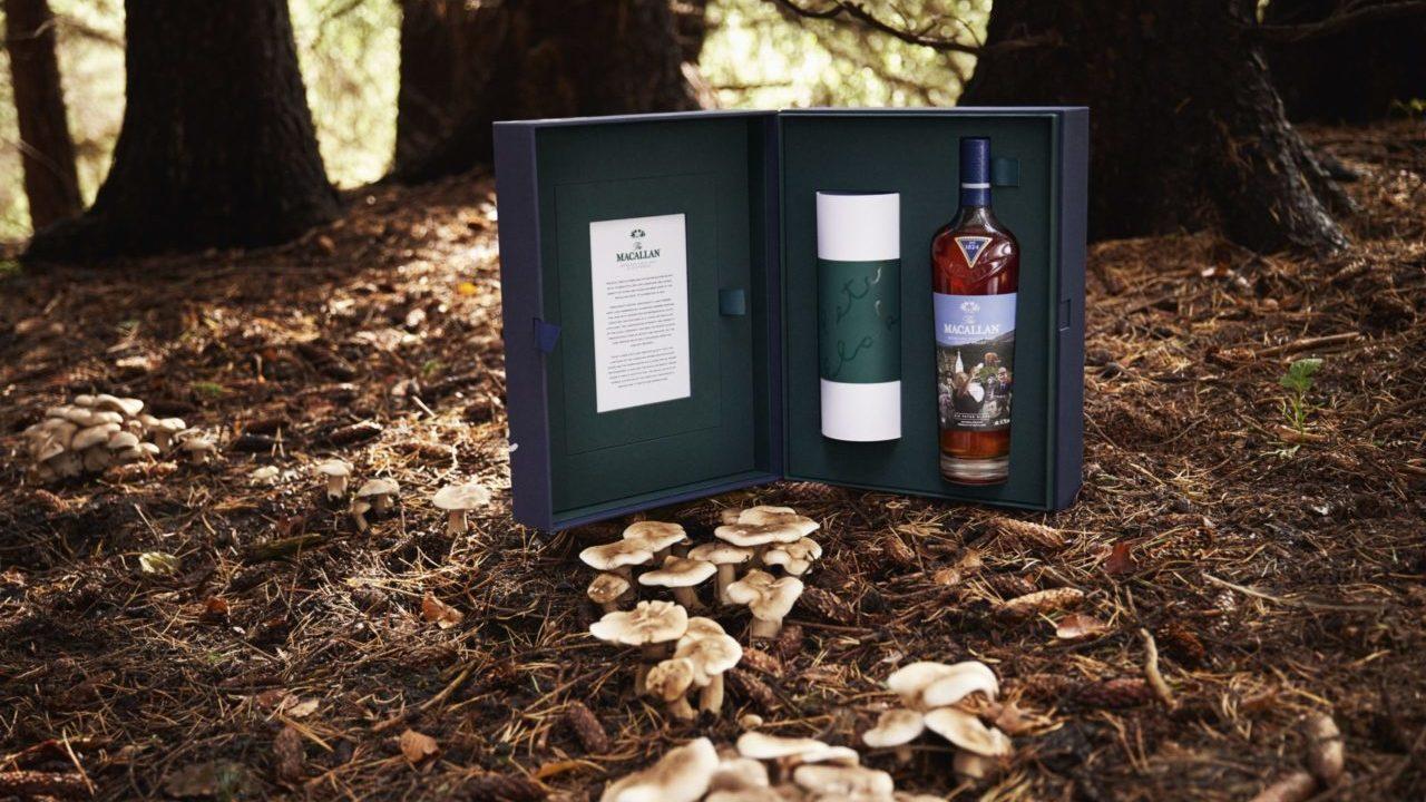 Arte y whisky entrelazan sus notas de inspiración en una cautivante colección