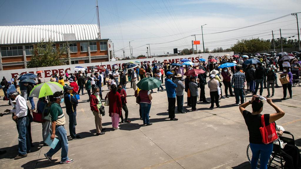 Vacunacion Covid19 adultos mayores Ecatepec 1