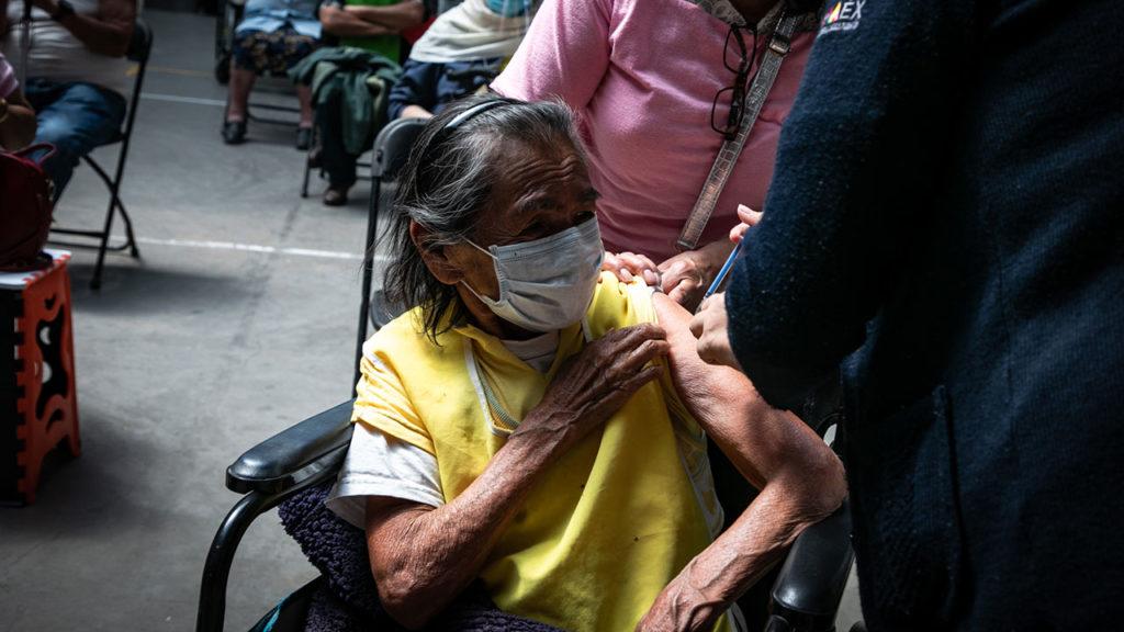 Vacunacion Covid19 adultos mayores Ecatepec 10