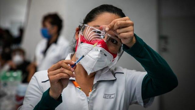 Vacunacion Covid19 adultos mayores Ecatepec 16