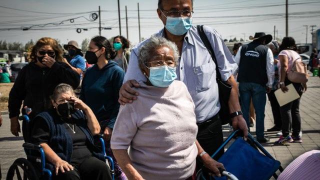 Vacunacion Covid19 adultos mayores Ecatepec 20